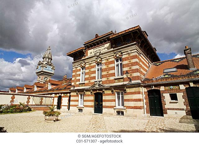 Champagne de Castellane winery. Epernay. Champagne. France