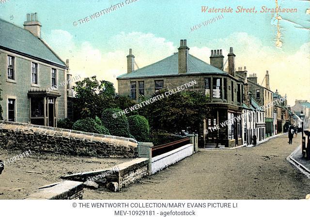 Waterside Street, Strathaven, near Hamilton/Glasgow, Lanarkshire, Scotland