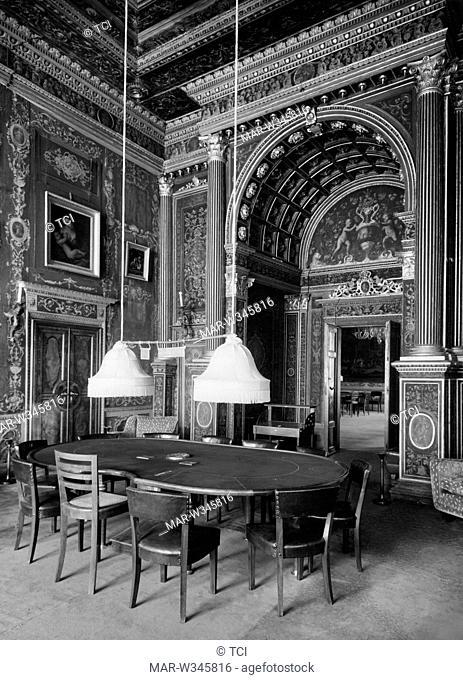 room, Ca' Vendramin Calergi, venice, 1930-40