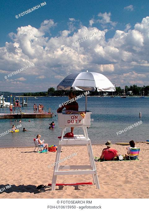 Harbor Springs, MI, Michigan, Lake Michigan, City Park Beach