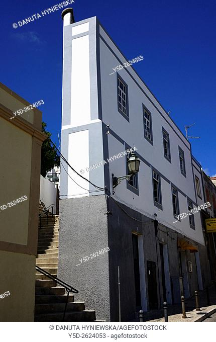 Europe, Portugal, Algarve, Western Algarve, Lagos, architecture of old town