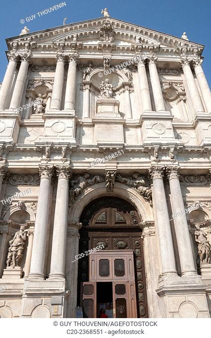 Facade, Saint Maria di Nazareth church, Venice, Italy