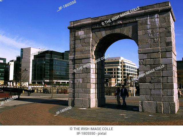 IFSC, North Wall Quay, Dublin, Ireland