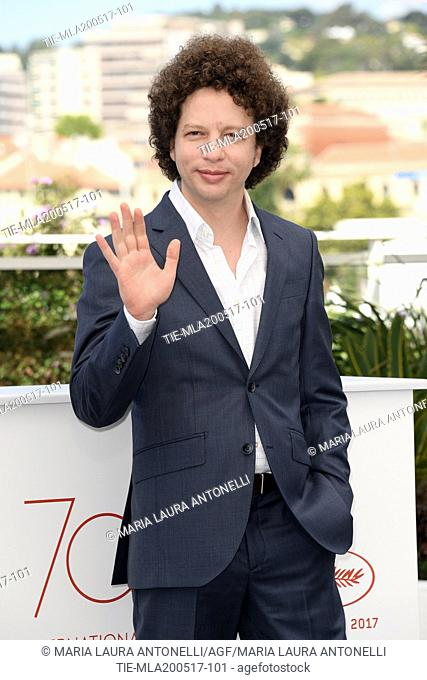 Director Michel Franco during the photocall of the film April s Daughter. 70 Cannes Film Festival. Cannes, France 20/05/2017