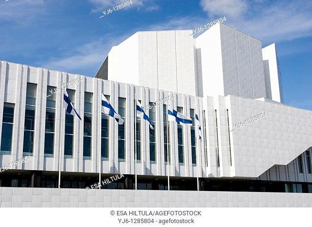 Finlandia Hall Helsinki Finland