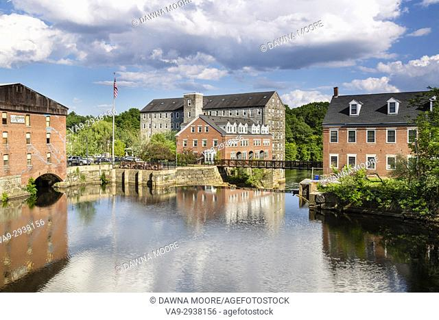 Old Mills of New Market, New Hampshire