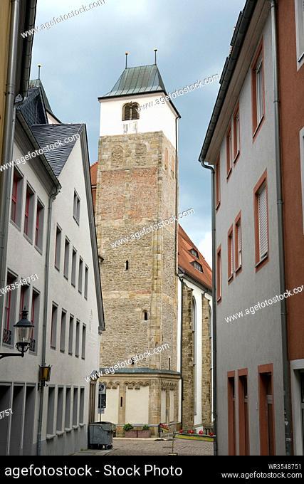 Nikolaikirche, Sachsen, Deutschland, Freiberg