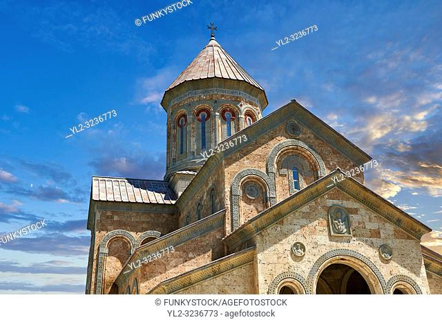 Pictures & images of Georgian Classica style church at The Monastery of St. Nino at Bodbe, a Georgian Orthodox monastic complex and the seat of the Bishops of...