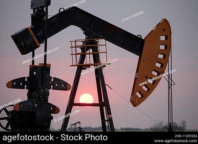 Oil Jack Saskatchewan Canada gas fields energy