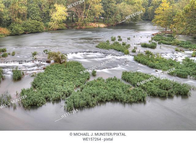 Shoal Creek in Joplin, Missouri