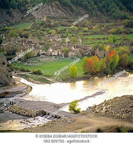 Ainsa zone. Huesca province. Aragon. Spain