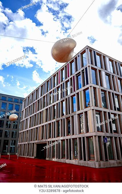 Raiffeisen Headquarter in St Gallen, Switzerland