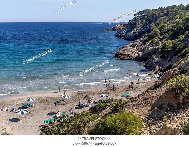 Cala Boix, Ibiza, Balearic Islands, Spain