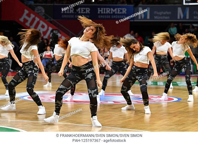 The Munich Cheer Allstars. Cheerleaders in action. Cheerleading is a sport that consists of elements of gymnastics, acrobatics, dance and cheers