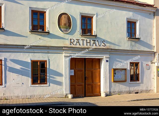 Traismauer, Old Town Hall in Donau, Niederösterreich / Lower Austria, Austria