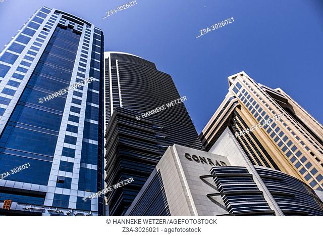 API World Tower at the WTC in Dubai, UAE