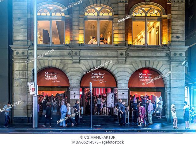 Australia, Sydney, New South Wales, Night, Nightlife