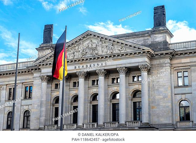 Germany: Seat of the Bundesrat, at the House of Lords of Prussia on Leipziger Straße in Berlin..Photo from 18 March 2019. | usage worldwide