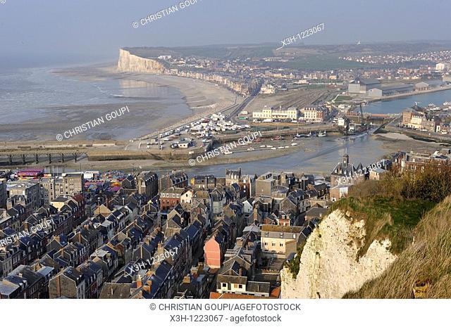 Le Treport, Seine-Maritime department, Haute-Normandie region, northern France, Europe