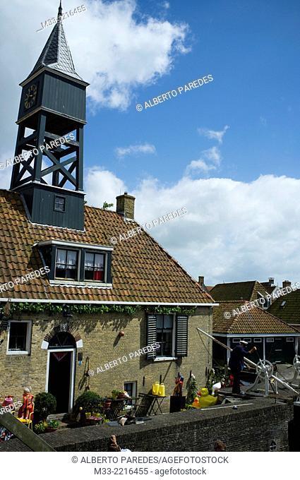 Hindeloopen, Friesland province (Fryslan), Netherlands