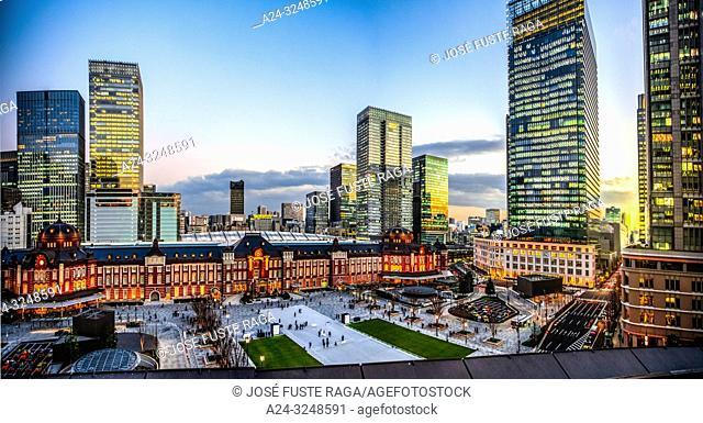 Japan, Tokyo City, Toky Station, west side