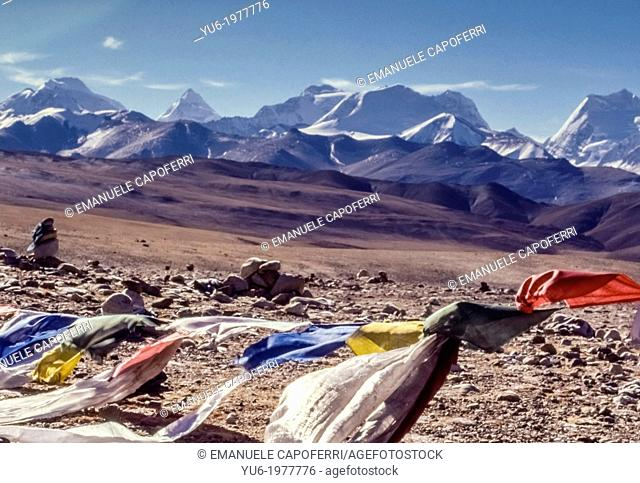 Lalung La Pass, Tibet, China