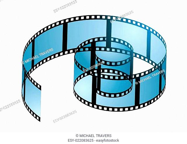 Film reel curl