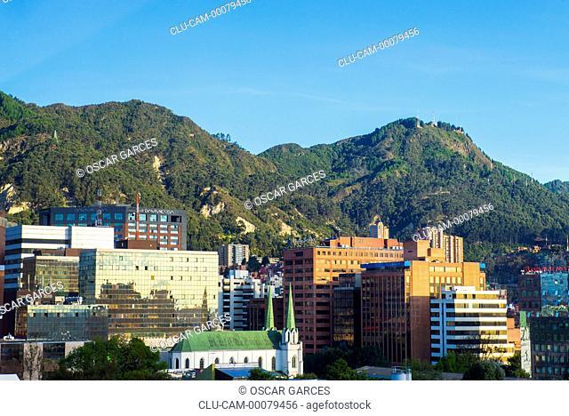 Panoramic City Bogota, Cundinamarca, Colombia