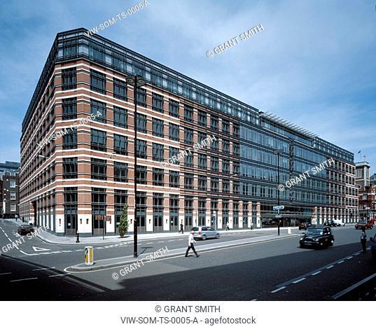 TIMES SQUARE, 160 VICTORIA STREET, LONDON, EC4 QUEEN VICTORIA STREET, UK, SKIDMORE OWINGS & MERRILL INC, EXTERIOR, QUEEN VICTORIA ST ELEVATION