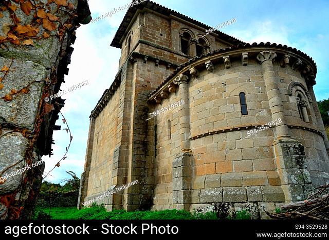 Church of San Miguel de Eire, O Mosteiro, Eire, Lugo, Spain