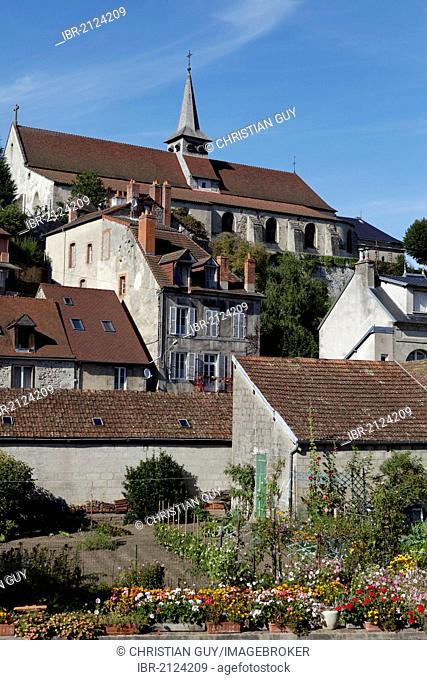 Sainte Croix church, Aubusson, Creuse, France, Europe