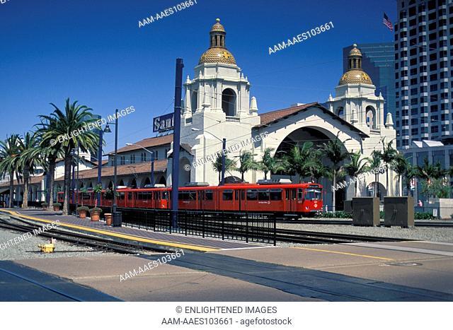 Santa Fe Rail Station, Downtown San Diego, CALIFORNIA