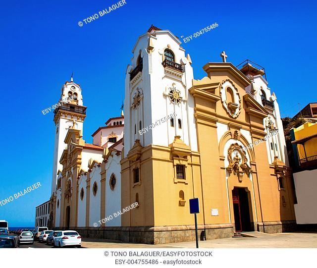 Basilica de Candelaria church in Tenerife at Canary Islands