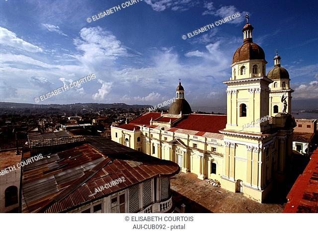 Cuba - Oriente - Santiago - Nuestra Senora de la Asuncion Cathedral