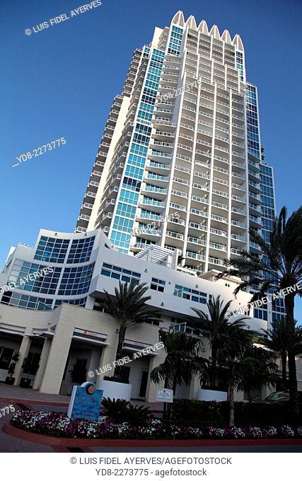 Building in Miami Beach, Florida, USA