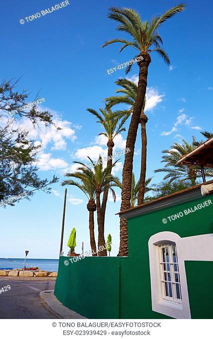 Denia Marineta Casiana beach in Alicante Spain Las Rotas