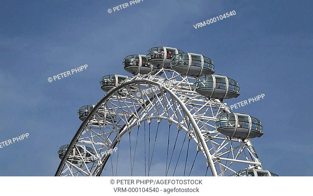 Capsules on the London Eye