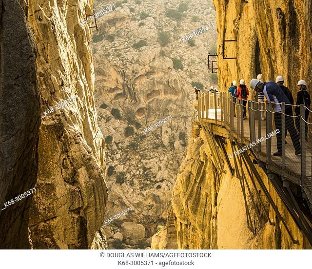 the Caminito del Rey, Malaga province, Spain