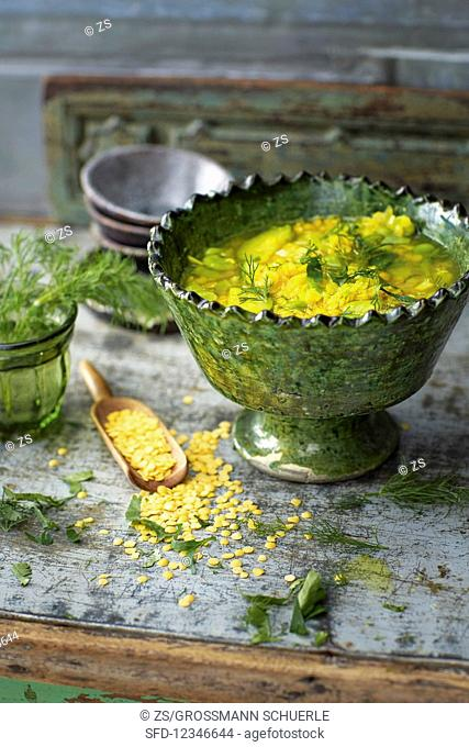 Persian bean soup