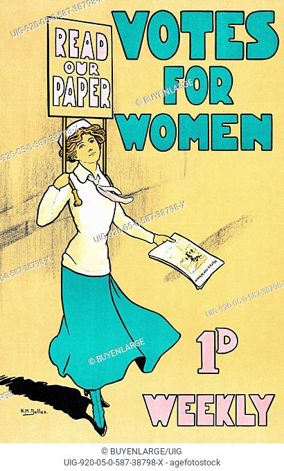 Read Our Paper - Votes for Women