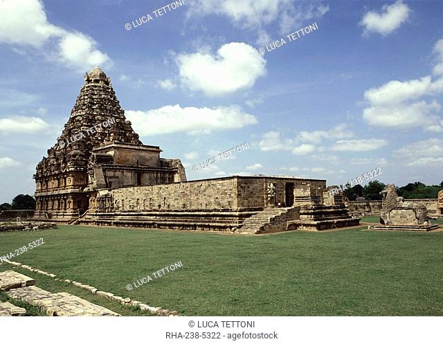 The Great Chola temple, Gangaikondacholapuram, Tamil Nadu, India, Asia