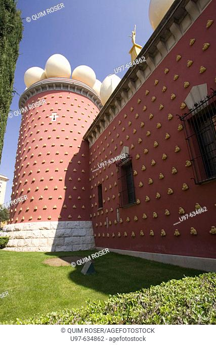 Dalí Theatre-Museum, Figueres, Girona-province, Spain