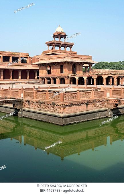 Anup Talao Pool, Fatehpur Sikri, India