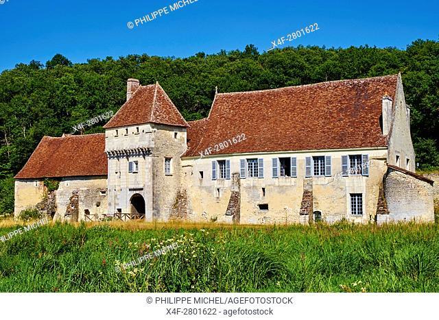 France, Indre-et-Loire (37), Chemillé-sur-Indrois, la Corroirie du Liget