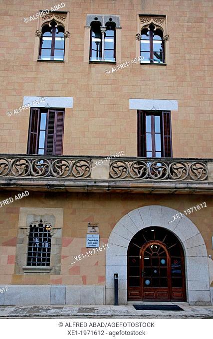 Can Rafart, farmhouse, civic center, Vilassar de Dalt, Catalonia, Spain
