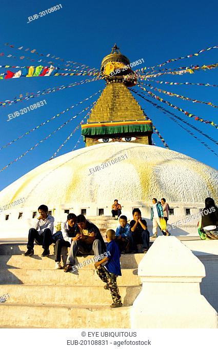 Boudnath Tibetan Buddhist Temple