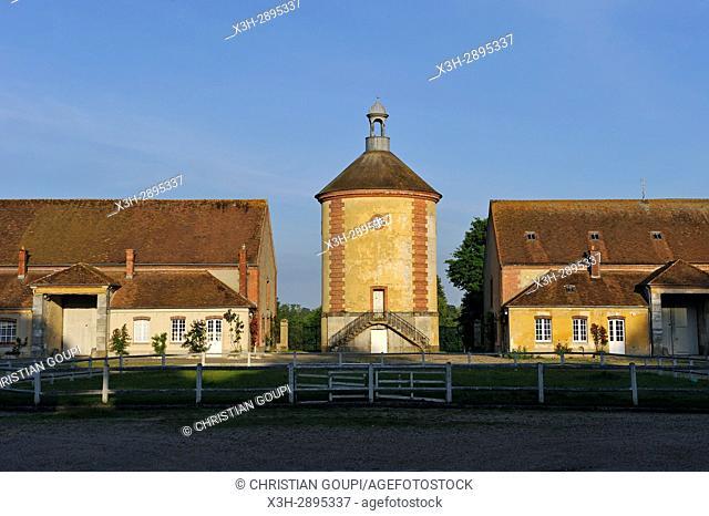 ''Bergerie Nationale'', Park of the Chateau de Rambouillet, Department of Yvelines, Ile-de-France region, France, Europe