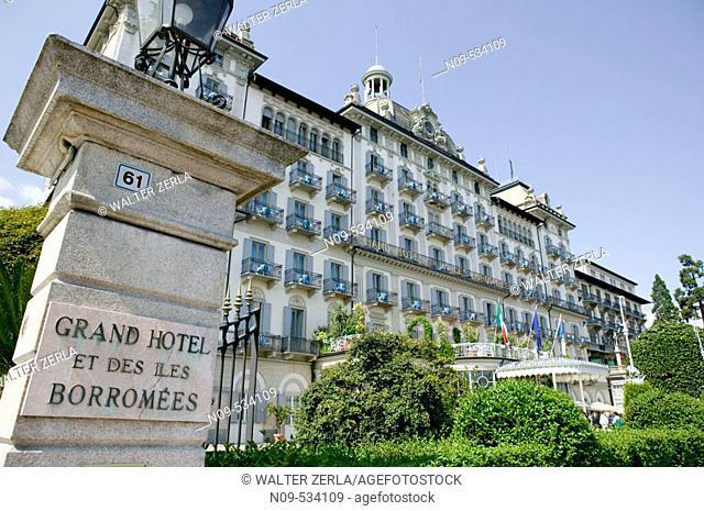 Grand Hotel Des Iles Borromees. Stresa, Piedmont, Italy