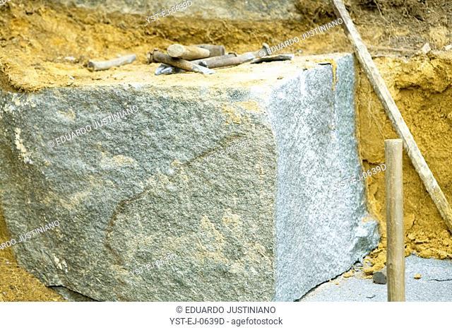 Block of Granite, Boa Nova, Bahia, Brazil