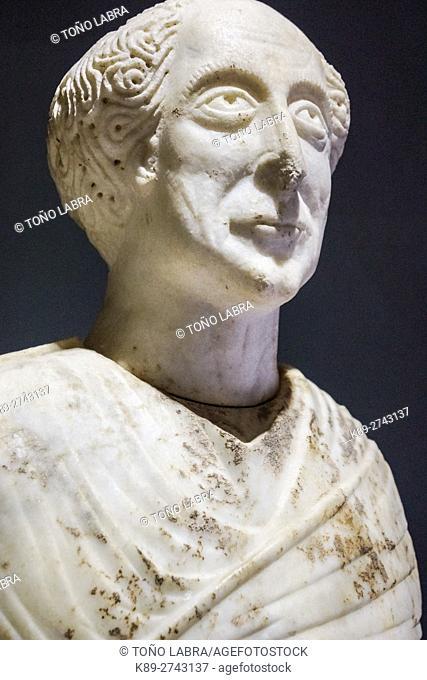 Proconsul Stephanos (6th Century AD). Ephes Museum. Classic Greek Collection. Asia Minor. Turkey